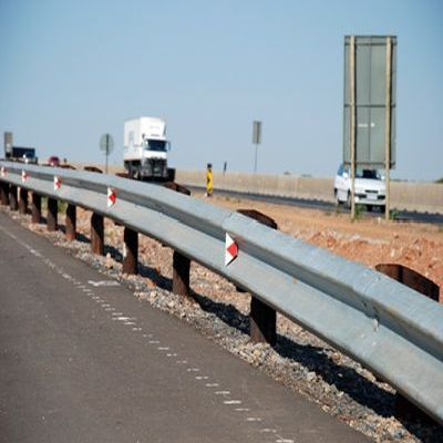Highway Crash Barrier In Ambassa