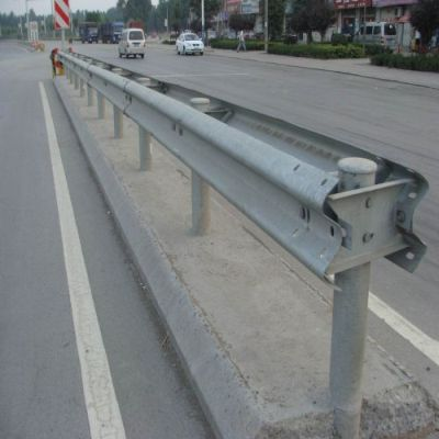 Highway Guardrail In Darjeeling